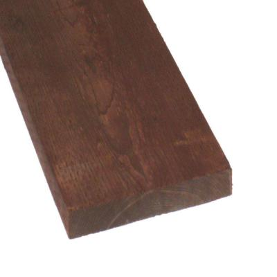 Pressure-Treated Lumber DF Brown Stain (Common: 3 in. x 12 in.