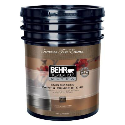 5-gal. Deep Base Flat Enamel Interior Paint