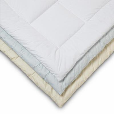 Allergen White Solid Comforter
