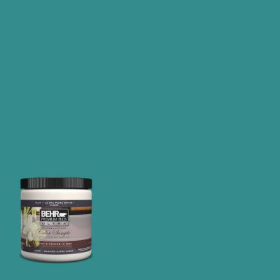 Behr premium plus ultra home decorators collection 8 oz hdc fl13 12 taos turquoise interior - Exterior and interior painting omaha collection ...