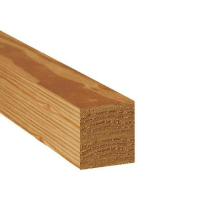 Pressure-Treated Timber #2 SYP Cedar-Tone (Common: 4 in. x 4 in.
