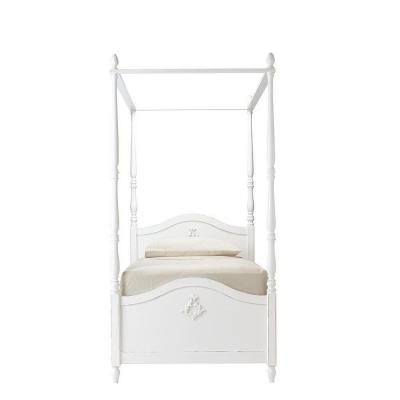 Carmela Kids Gustaviano Wash Full Size Canopy Bed Product Photo