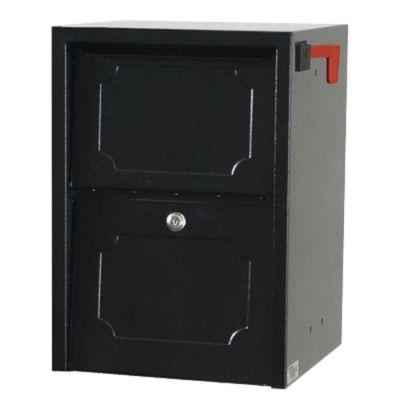 Weekend Away Vault Black Post/Column Mount Secure Mailbox Product Photo