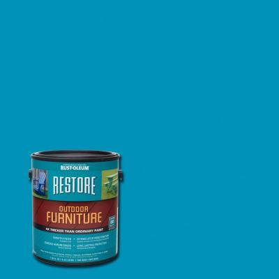 1 gal. Oasis Blue Outdoor Furniture Coating