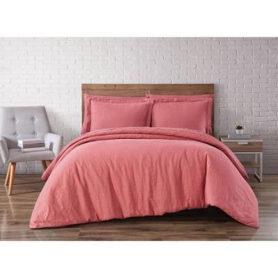 Brooklyn Loom Linen 3-Piece Duvet Set