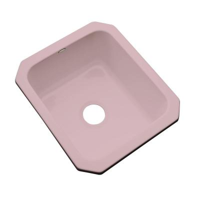 Crisfield Undermount Acrylic 17 in. Single Bowl Entertainment Sink in Wild