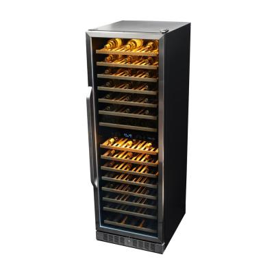 NewAir 160-Bottle Dual Zone Built In Wine Cooler