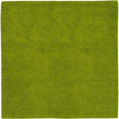 Cambridge Lime Green 8 ft. Square Area Rug