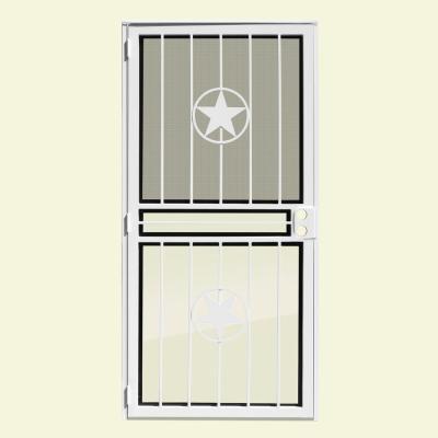 Lone Star Recessed Mount Outswing Security Door
