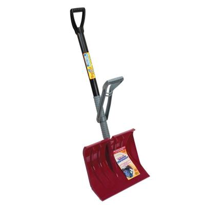 Bigfoot 18 in. Power Lift Snow Shovel with Premium Lifetime Handle
