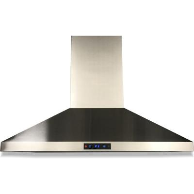 Cavaliere 36 in. Ducted Wall-Mounted Range Hood in Stainless Steel