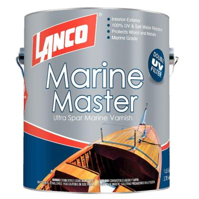 Lanco Marine Master 1 gal. Oil-Based Ultra-Spar Marine Varnish