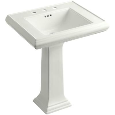 Memoirs Classic Pedestal Combo Bathroom Sink in Dune Product Photo