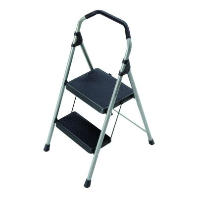 Gorilla Ladders 2-Step Lightweight Steel Step Stool with 225 lb. Load Capacity Type II Duty Rating