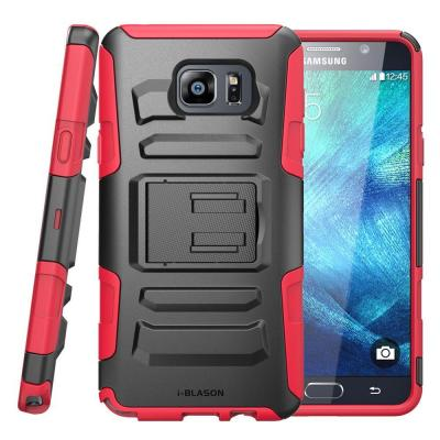i-Blason Prime Series Holster Case for Galaxy Note 5, Red
