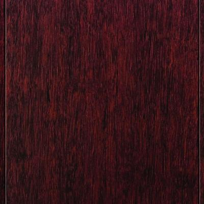 Home Legend Strand Woven Cherry 3/8 in. Thick x 4-3/4 in. Wide x 36 in. Length Click Lock Bamboo Flooring (19 sq. ft. / case)