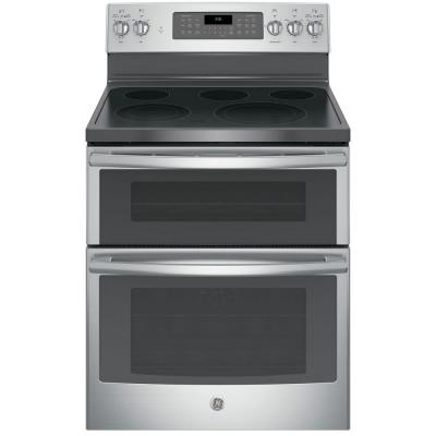 6.6 cu. ft. Double Oven Electric Range with Self-Cleaning Convection Oven