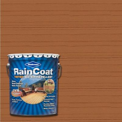 Wolman 5-gal. Raincoat Tinted Natural Hickory Water Repellent Sealer