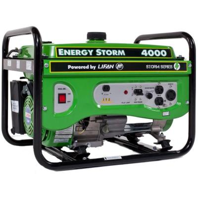 LIFAN Energy Storm 4,000-Watt 211cc Gasoline Powered Portable Generator with Voltage Selector Switch
