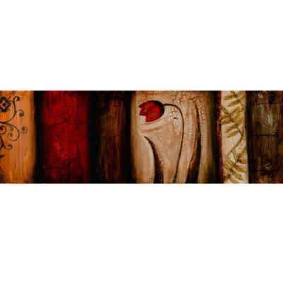 Yosemite Home Decor 59 in. x 20 in. Romance for the Ages II Hand Painted Contemporary Artwork