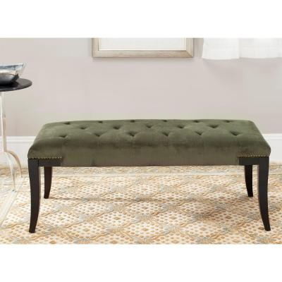 Gibbons Bench in Forest Green