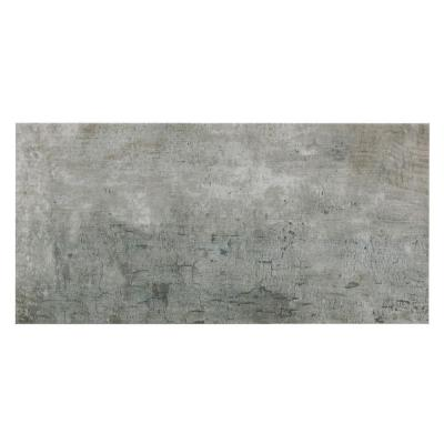 Tune Grigio 12 in. x 24 in. Porcelain Floor and Wall