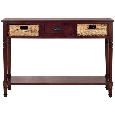 Christa Storage Cherry Pine Console Table