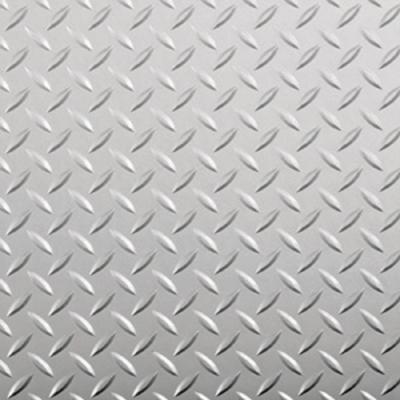 9 ft. x 60 ft. Diamond Tread Industrial Grade Metallic Silver