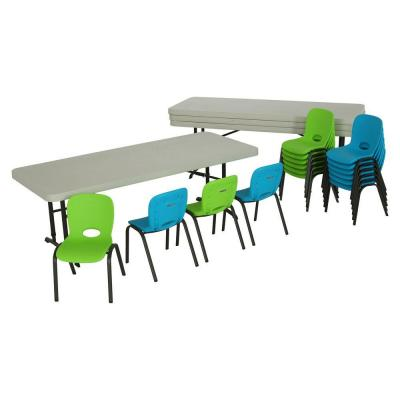 Lifetime 6 ft Adjustable Table 4 Piece and Kids
