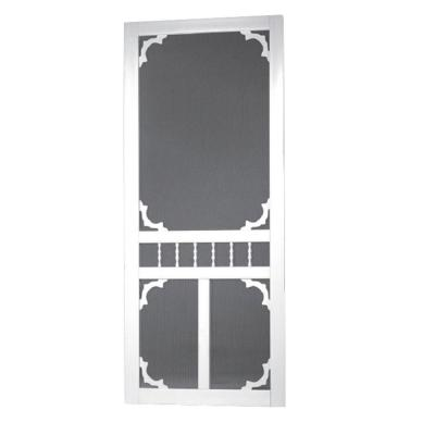Vinyl White Carolina Screen Door
