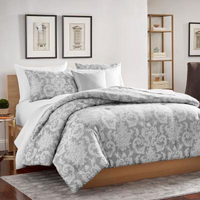 Carlyle Cotton Polyester Jacquard Comforter Set