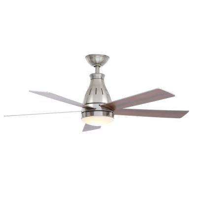 Hampton Bay Cobram 48 in. Brushed Nickel Ceiling Fan