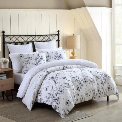Kentville Floral Cotton Comforter Set