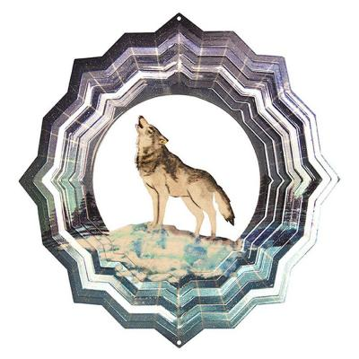 Iron Stop 6.5 in. Wolf Wind Spinner