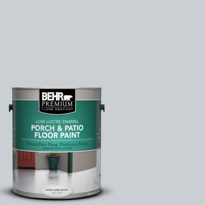 1-gal. #PFC-61 Foggy Morn Low-Lustre Porch and Patio Floor Paint