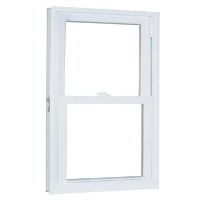American Craftsman 31.75 in. x 57.25 in. 70 Series Double Hung Buck Vinyl Window - White