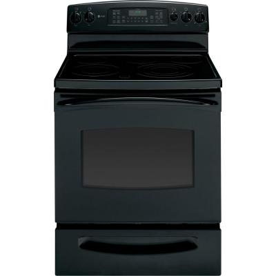 Profile 5.3 cu. ft. Electric Range with Self-Cleaning Convection Oven in