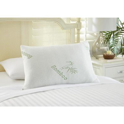 Bamboo Hypoallergenic Memory Foam Pillow (Set of 2)