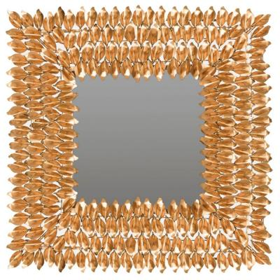 Borghese 25 in. x 25 in. Square Framed Mirror