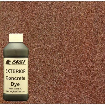 Eagle 1 gal. Painted Desert Exterior Concrete Dye Stain Makes with Acetone from 8-oz. Concentrate