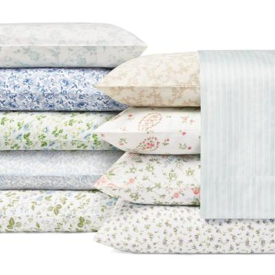 Blossoming Floral 300-Thread Count Cotton Sheet Set