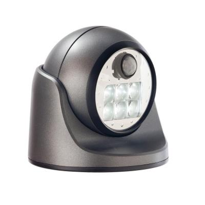 Charcoal 6-LED Wireless Motion-Activated Weatherproof Porch Light Product Photo
