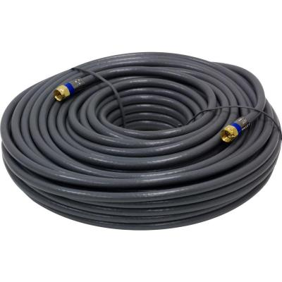 GE 100 ft. In-Wall Coaxial Cable - Gray