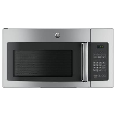 GE 30 in. 1.6 cu. ft. Over the Range Microwave in Stainless Steel