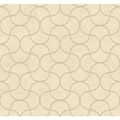 60.75 sq. ft. Dimensional Effects Luisa Wallpaper Product Photo