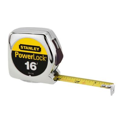 Stanley 16 ft. Tape Measure-33-116L - The Home Depot