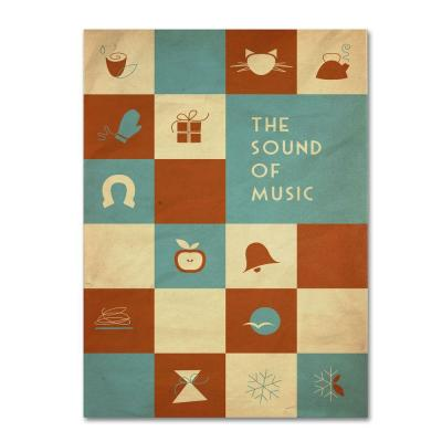 16 in. x 24 in. The Sound of Music Canvas Art