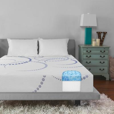 Dual Layer 8 in. Firm Gel Memory Foam Tight Top Mattress