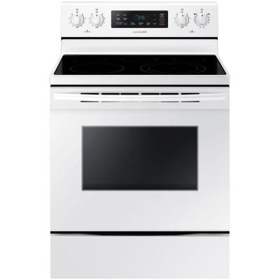 30 in. 5.9 cu. ft. Electric Range with Steam-Cleaning Oven in