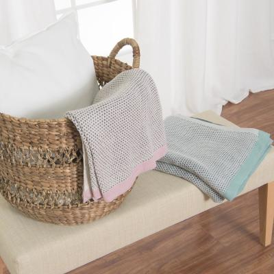 Woven Honeycomb Throw